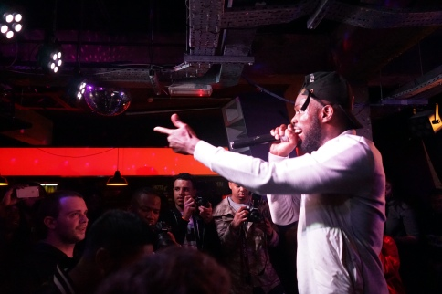 Ghetts, Queen of Hoxton - 27th April 2016