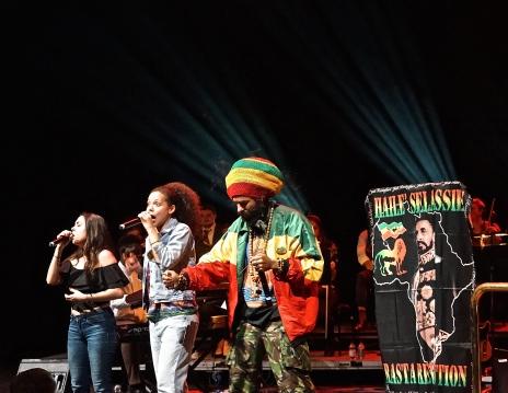 Congo Natty, Nanci & Phoebe, Southbank Centre - 12th January 2017